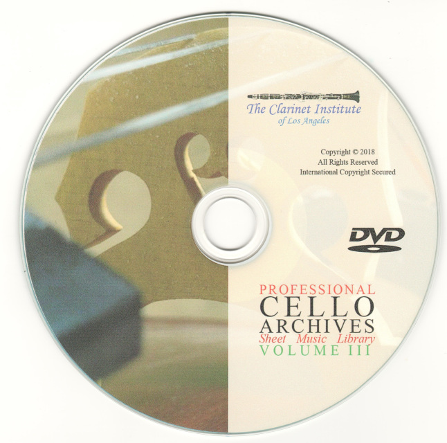 Cello Archive, Volume 3